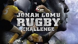 Jeu de rugby Jonah lomu rugby challenge PS3