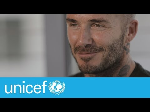 David Beckham shares his journey as a dad | UNICEF Parenting