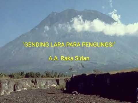 GENDING LARA PARA PENGUNGSI - Vocal : AA. Raka Sidan