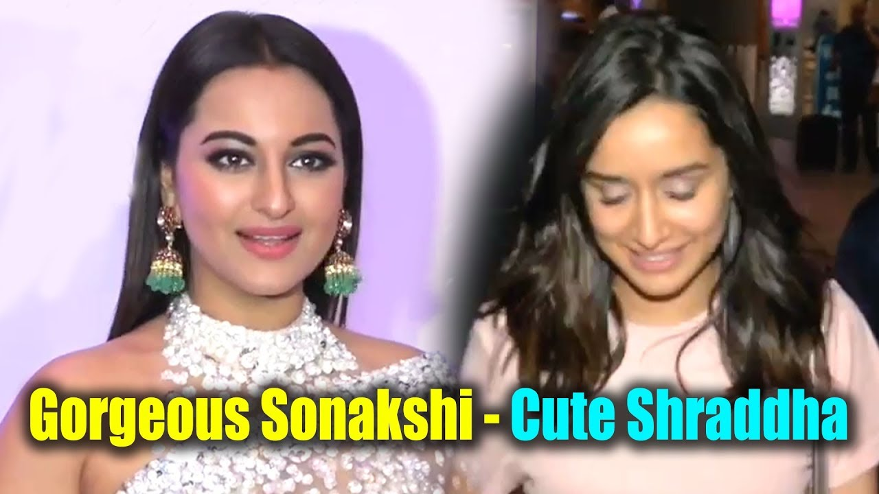 Sonakshi Sinha Looks Gorgeous In White Saree