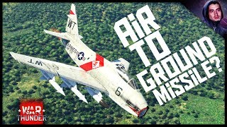 Air to Ground Missiles!! || FJ-4b (War Thunder Jets)