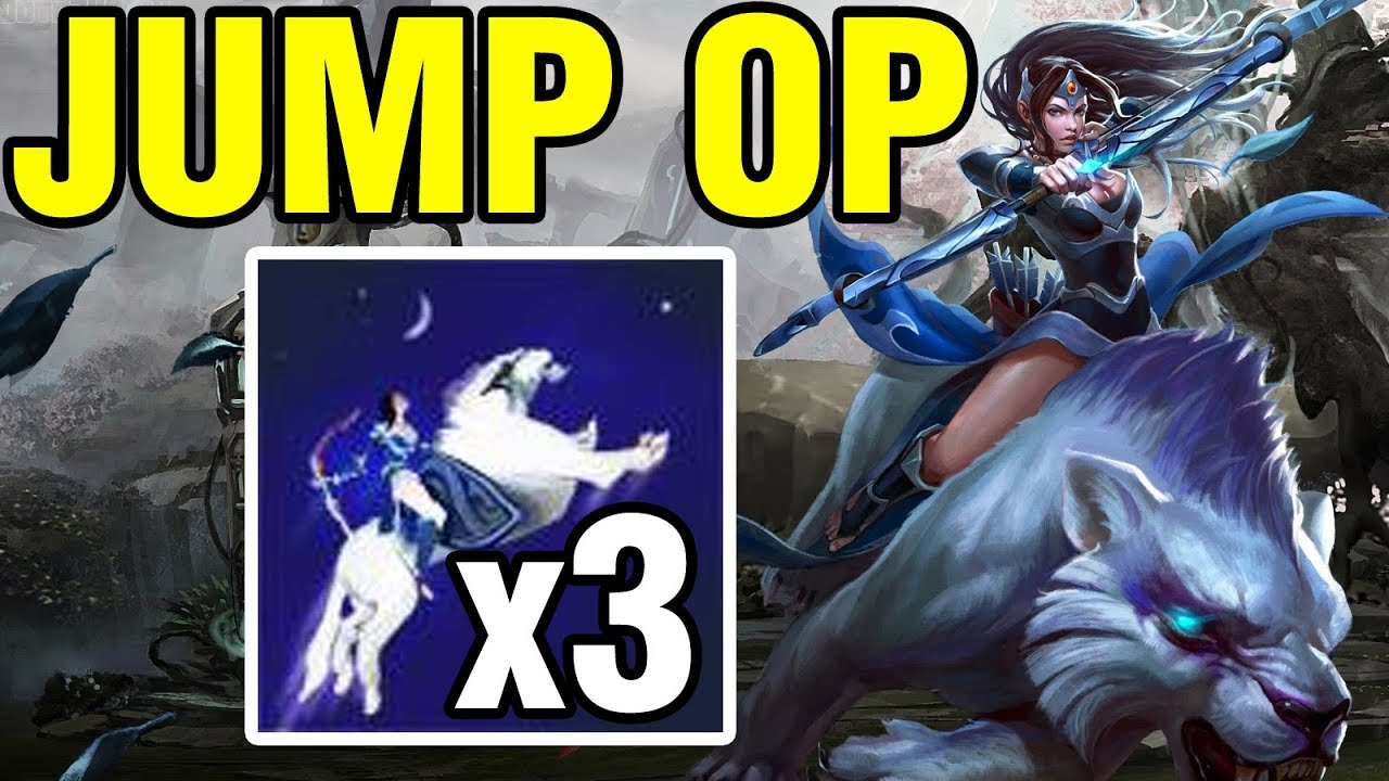 Jump Op Inyourdream Plays Mirana Dota