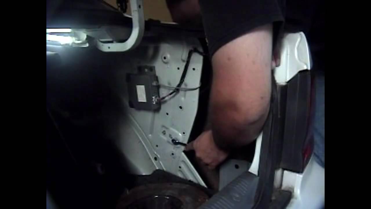 1999 Nissan Altima Speaker Wiring Diagram 12s Trailer Plug 1995 Maxima Power Antenna Replacement Youtube