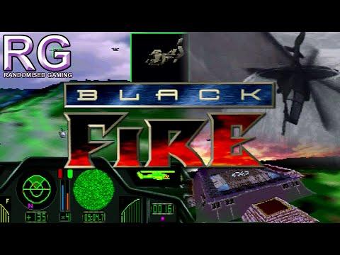 Black Fire - Sega Saturn - Intro & Gameplay [720p 60fps]