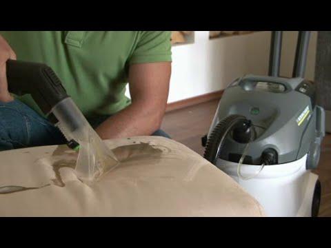 Spalare Canapea.Spalare Canapea Cu Aspirator Cu Spalare Karcher Se 5 100 Youtube