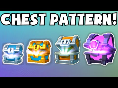 Clash Royale CHEST PATTERN / Rotation / Drop Cycle EXPLAINED | Random Or Not? (High-Level Gameplay)