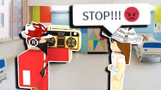 ROBLOX Radio Song Trolling (LOUD MUSIC)
