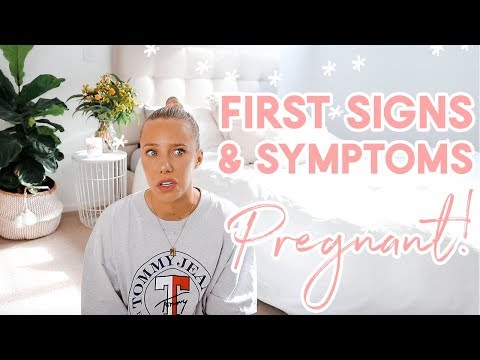 Symptoms of Pregnancy FIRST WEEKS! Signs to look out for/How