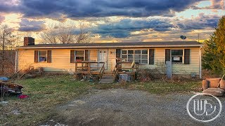 Army Dude's ABANDONED Double Wide Home - Filthy Living Conditions & Belongings