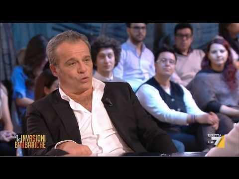 Le Invasioni Barbariche - Claudio Amendola, l'intervista a Le Invasioni Barbariche