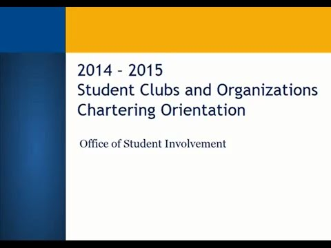 CSUB OSI Chartering Presentation 2014-2015