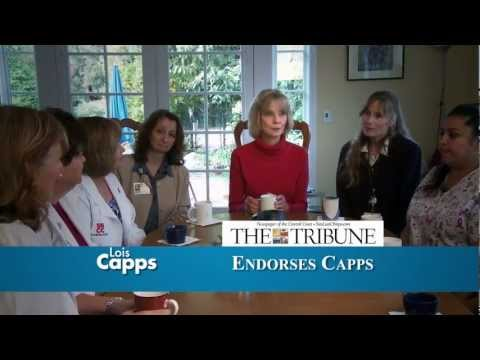 Lois Capps: Endorsed by the Central Coast newspapers you trust