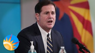 Gov. Ducey orders bars and gyms closed, plus delays the start of schools for Arizona amid COVID-19