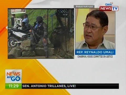 NTG: Panayam kay Rep. Reynaldo Umali, chairman, House Committee on Justice