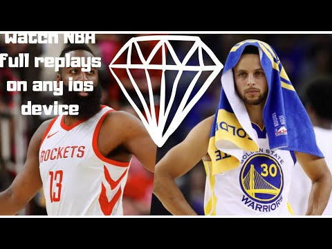 WATCH NBA FULL REPLAYS ON ANY IOS DEVICE!!!!!