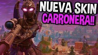 NUEVA SKIN CARROÑERA!! | FORTNITE: Battle Royale | Rubinho vlc