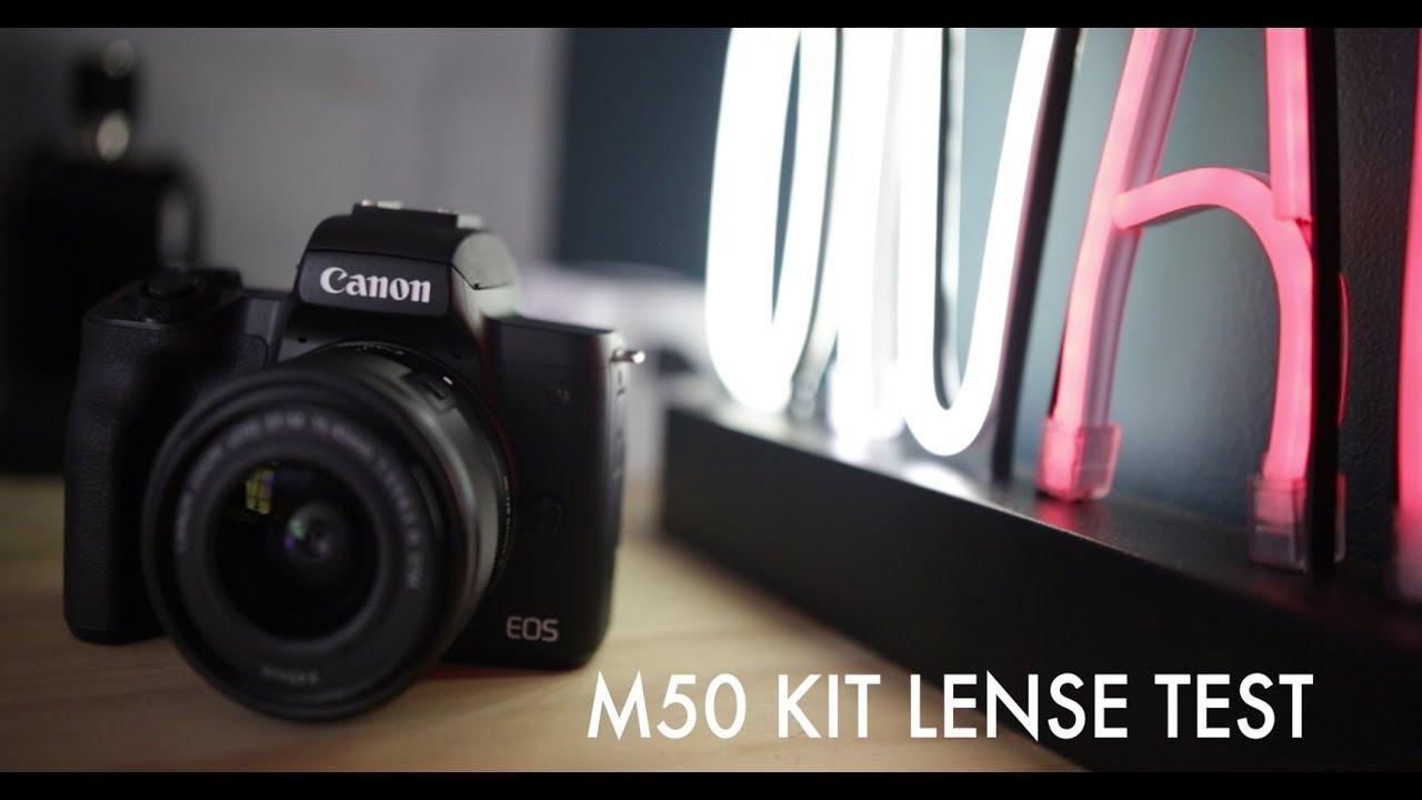 Canon M50 Kit Lense Test Does It Suck