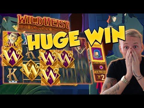 BIG WIN!!! Wild Heist BIG WIN - Casino Games - free spins (gambling)