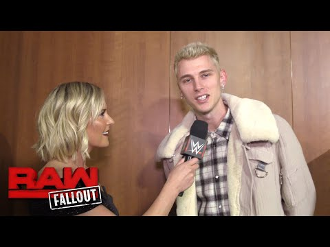 Machine Gun Kelly is ready for WWE Tribute to the Troops: Raw Fallout, Dec. 4, 2017