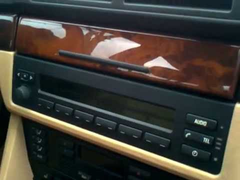 How to remove BMW Business CD radio unit