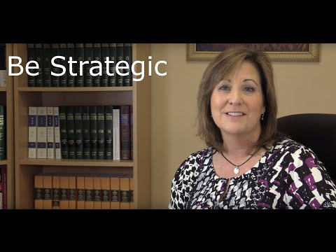 What it means to be strategic