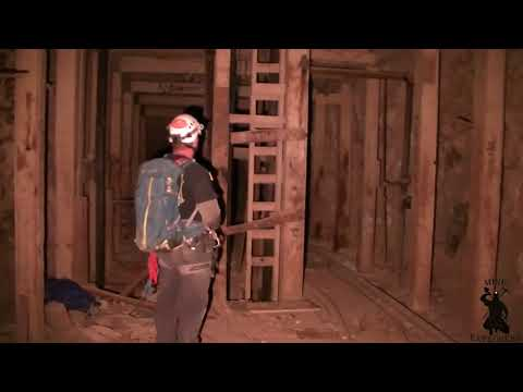 Exploring Old Large Cut & Fill Silver Mine