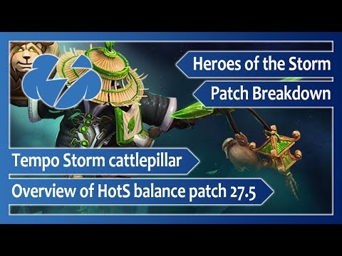Tempo Storm Cattlepillar Reviews Heroes Of The Storm Patch 27.5 Notes