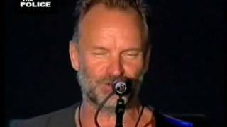 "THE POLICE ""EVERY BREATH YOU TAKE"" 2008 LIVE IN MADRID"