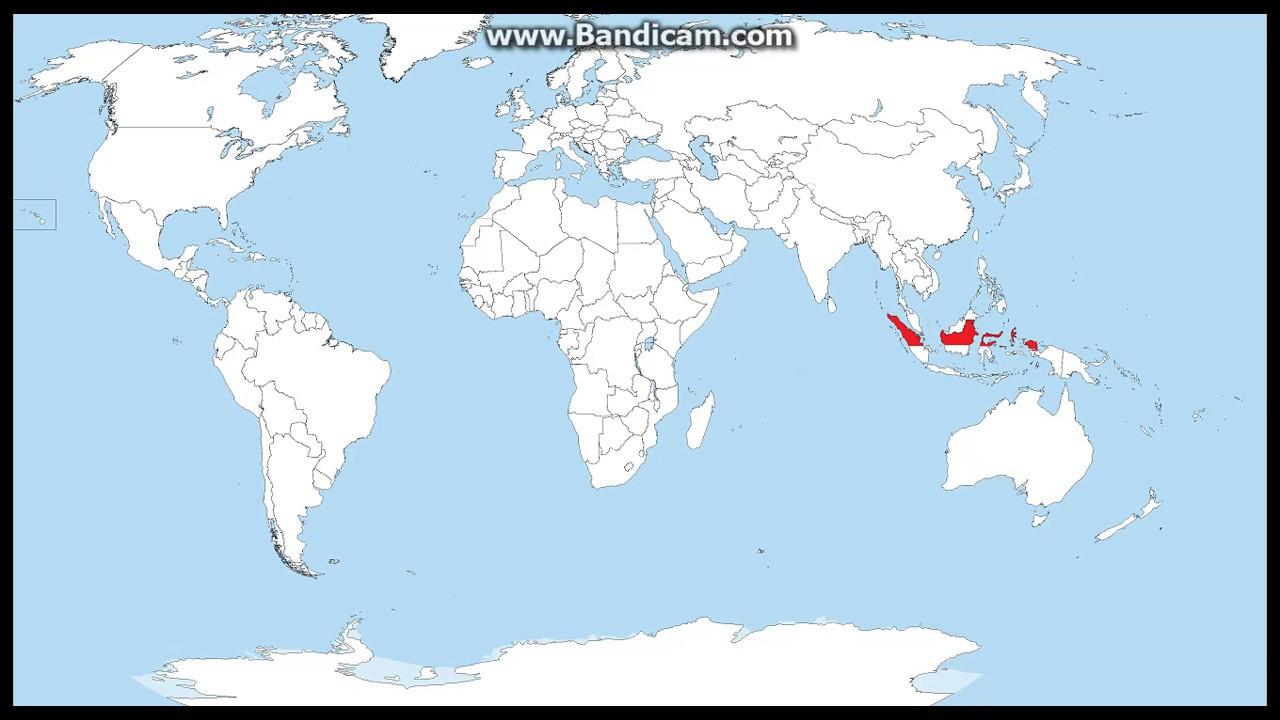 Mari Mewarnai Negara Indonesia Youtube