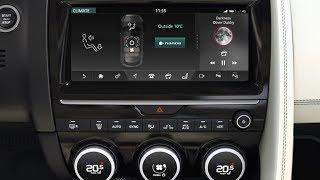 Jaguar E-PACE | InControl Touch Pro: Climate Control