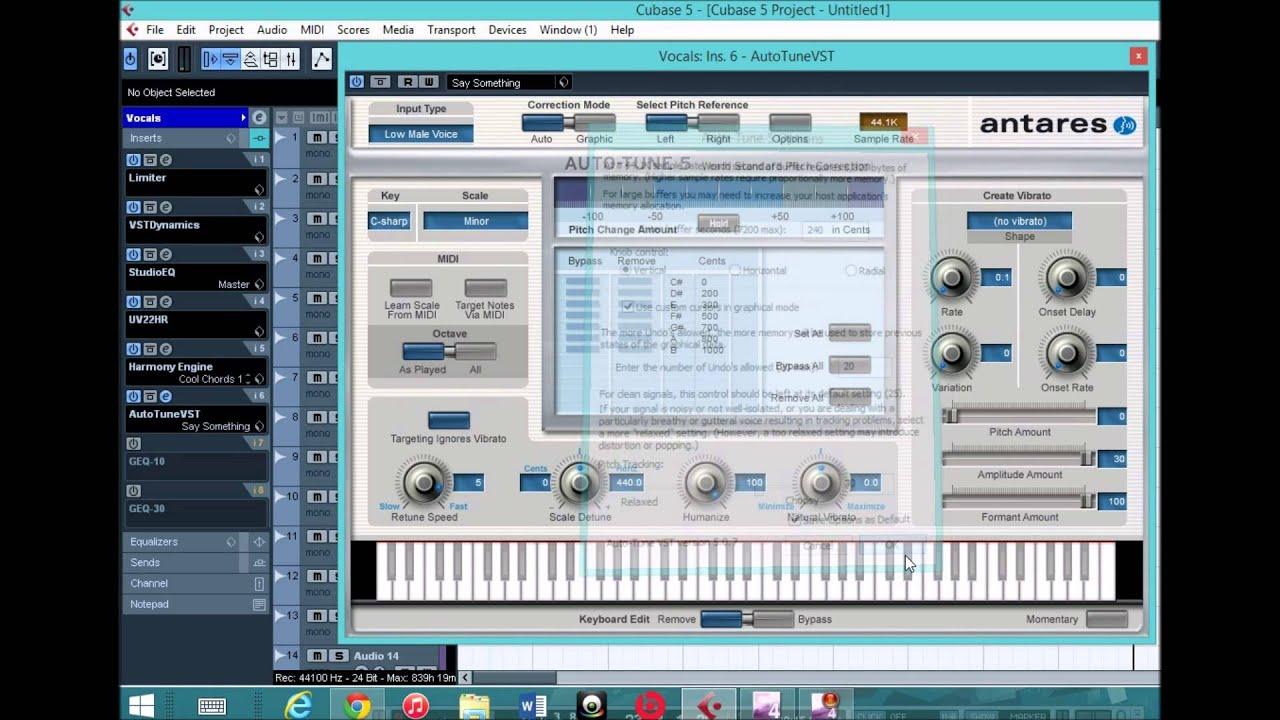 Shad Jax Travis Scott Effect Autotune Amp Harmony Engine