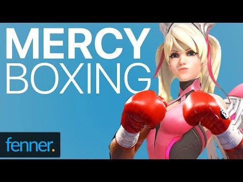 Mercy boxing: Fun Overwatch arcade games