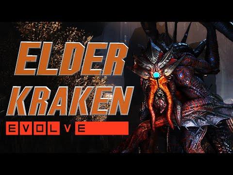 Evolve | Elder Kraken | Abilities & Gameplay