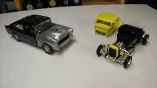 On the Bench - Resurrecting the American Graffiti '32 Ford Coupe and '55 Chevy