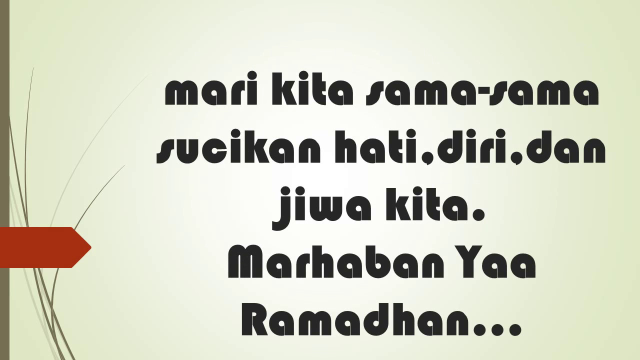 Kata-Kata Mutiara Ramadhan / Video Ucapan Ramadhan ...