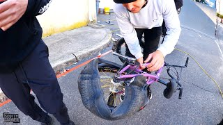 We Have Never Seen A Tire Fail Like This Before!