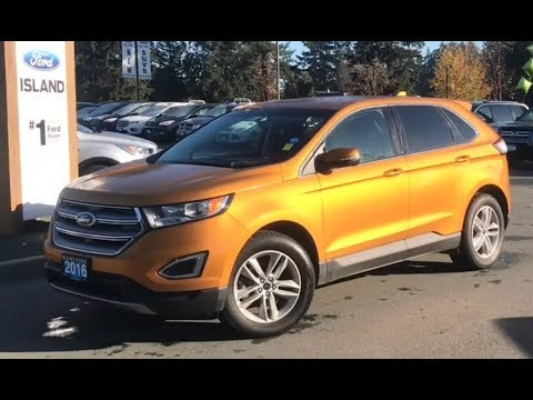 Ford Edge Sel W Heated Seats Backup Camera Trailer Hitch Review Island Ford