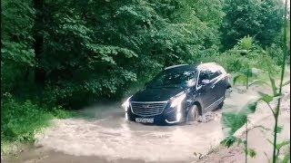 Cadillac XT5 vs Cadillac SRX – гламурный тест-драйв по грязи - часть 3