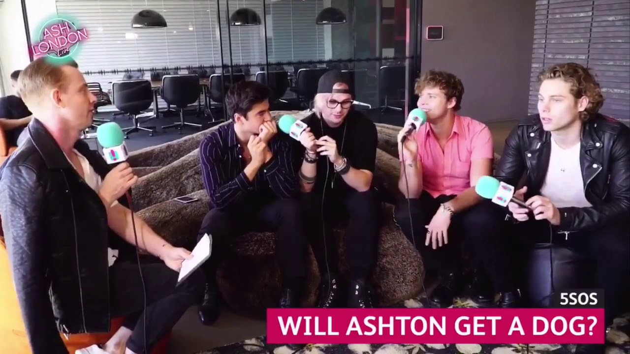 5SOS - Ash London Interview 2018 (FULL)