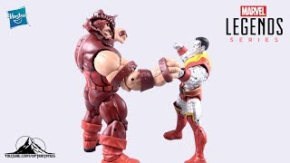 Marvel Legends 80 Years Colossus & Juggernaut 2 Pack Video Review