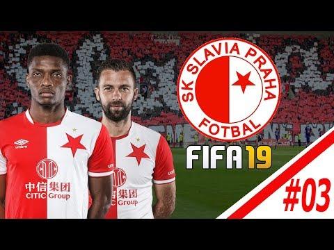 FIFA 19 CZ | Kariéra za Slávii Praha #03| Evropská liga začíná ! 🔥