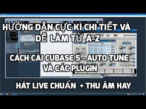 Hướng dẫn cực kì chi tiết cài đặt cubase 5,auto tune,các plugin hát live hay,thu âm chuẩn.0868642394