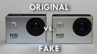 SJ4000: Fake vs. Original (как отличить подделку)