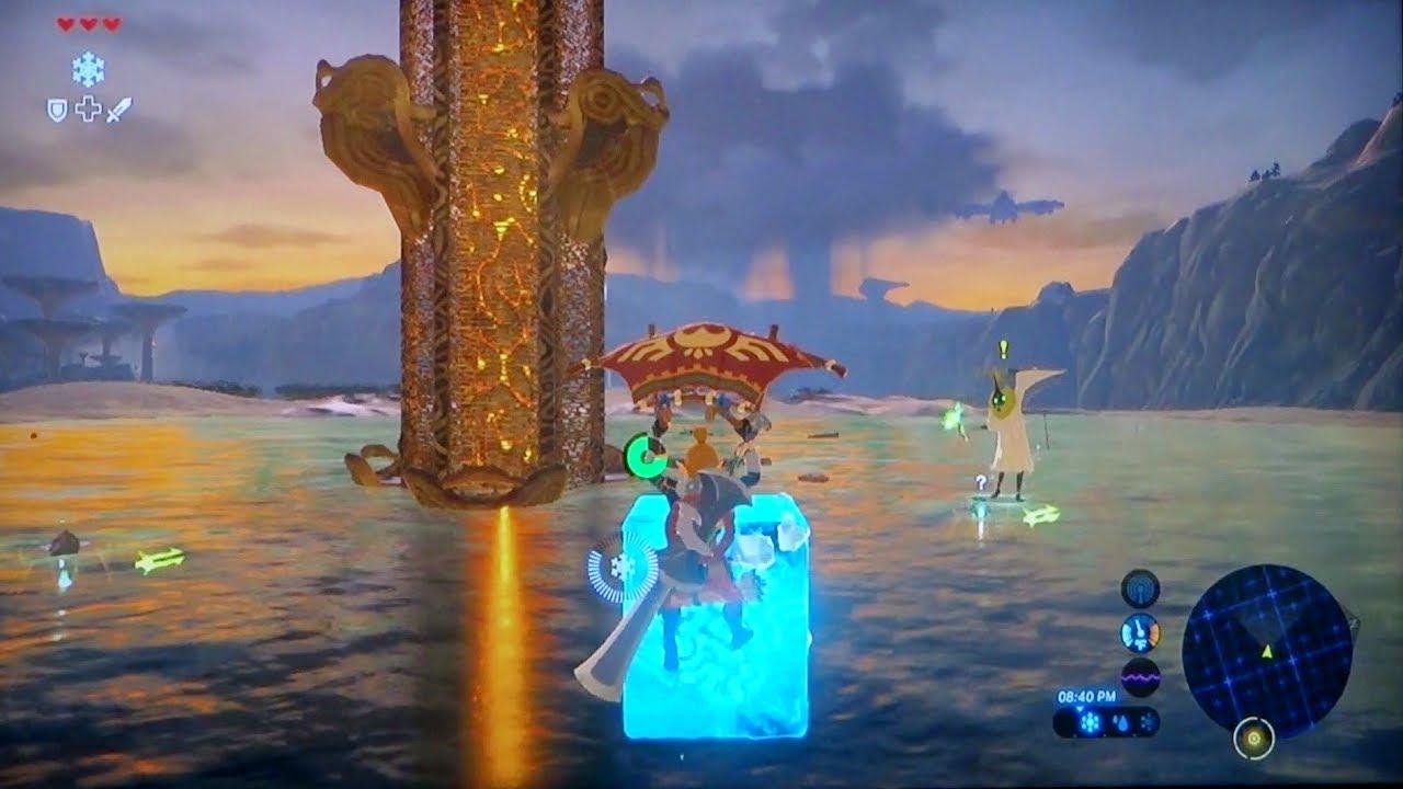 Perfect Method Through Ridgeland Tower The Legend Of Zelda Breath Of The Wild Botw Youtube