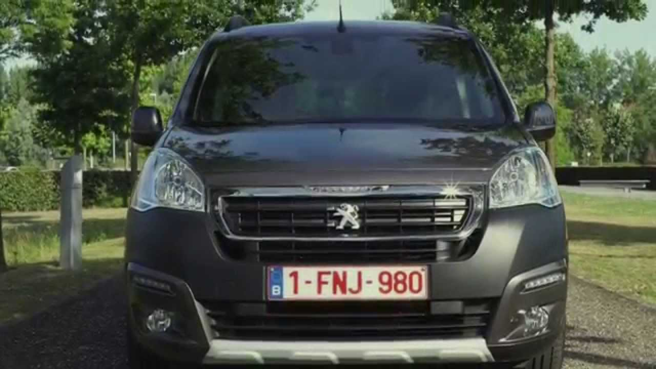 New Peugeot Partner Tepee 2015 Youtube