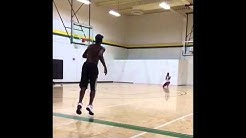 Daeshon Francis pulls off EASTBAY with EASE! Midland College, Texas Sophomore Dunk Session