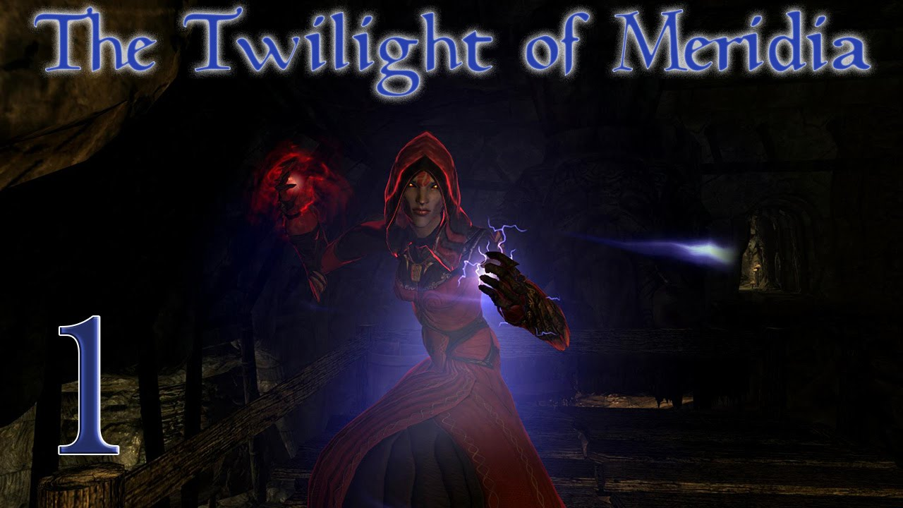 Character Build: The Twilight of Meridia - Skyrim Character