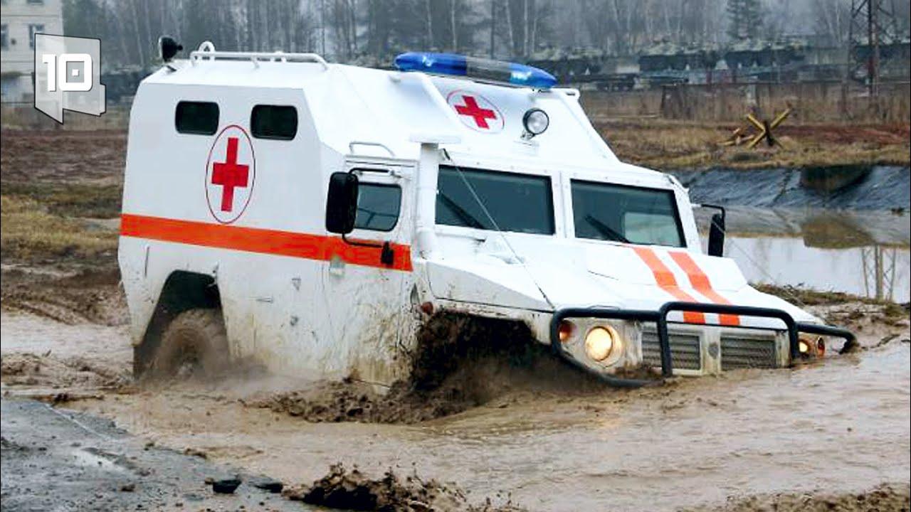 10 Ambulâncias Blindadas mais Seguras do Mundo