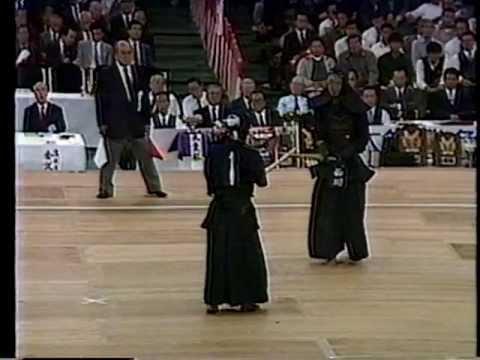 第35回(1987)全日本剣道選手権【準々決勝】西川(東京) Vs 亀井(熊本)