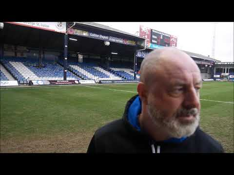 INTERVIEW | Keith Hill Post-Luton Town (A)